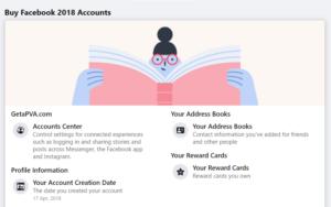 Buy Facebook 2018 Accounts