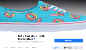 buy facebook pva with marketplace